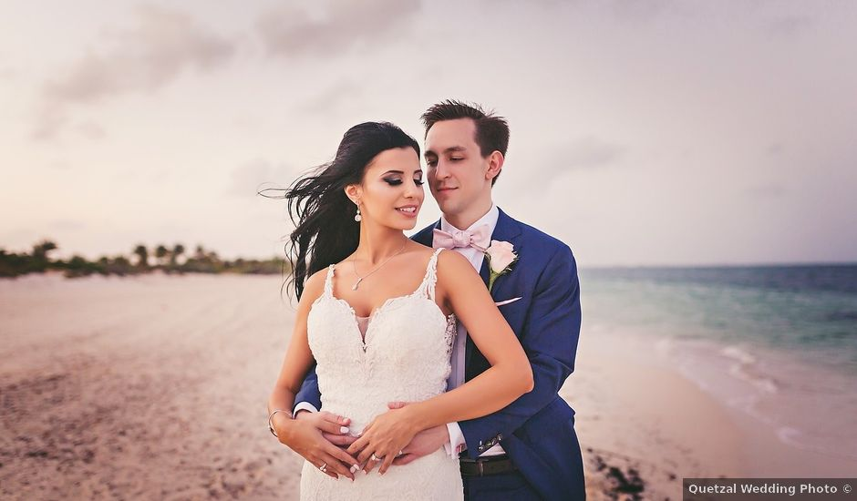 Zachary and Joelle's Wedding in Cancun, Mexico