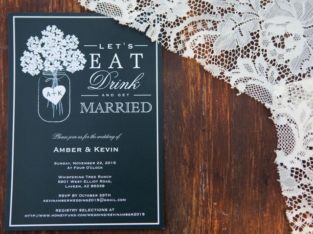 Amber and Kevin's Wedding in Laveen, Arizona 1