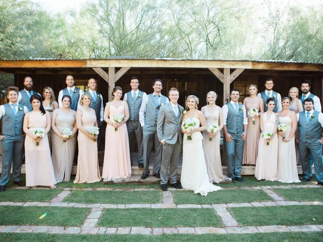 Amber and Kevin's Wedding in Laveen, Arizona 9