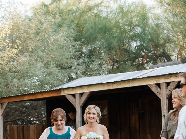 Amber and Kevin's Wedding in Laveen, Arizona 12