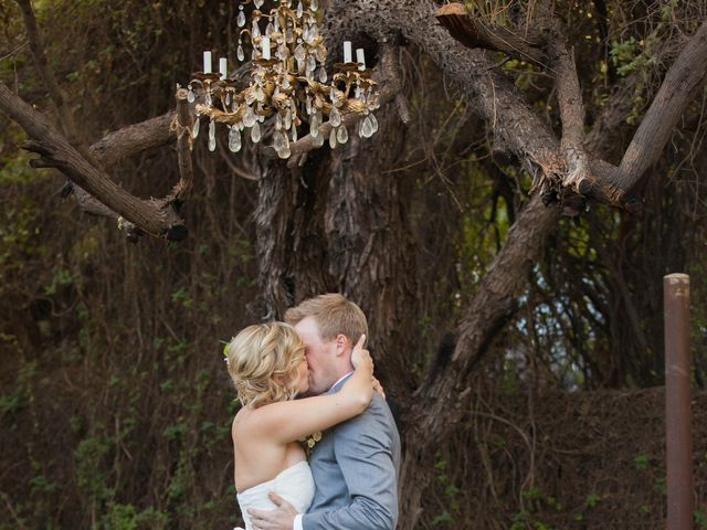 Amber and Kevin's Wedding in Laveen, Arizona 14