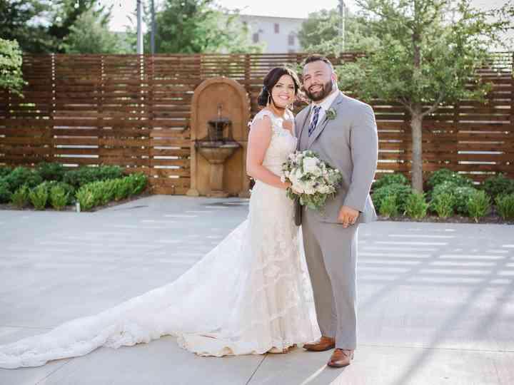 The wedding of Sarah and Arthur