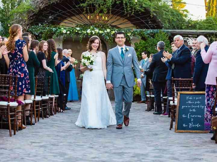 The wedding of Jason and Emily