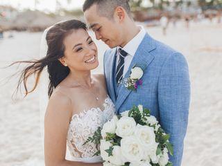 The wedding of Sophia and Jeff
