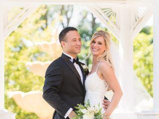The wedding of Alesha and Ken