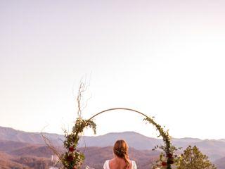 The wedding of Melissa and Matt 1