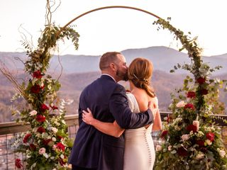 The wedding of Melissa and Matt 2