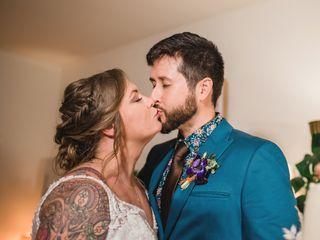 The wedding of Krystal and Trevor