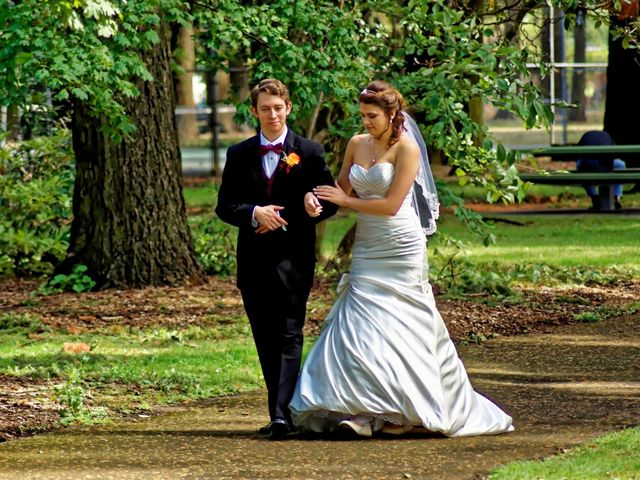 The wedding of David and Moriah