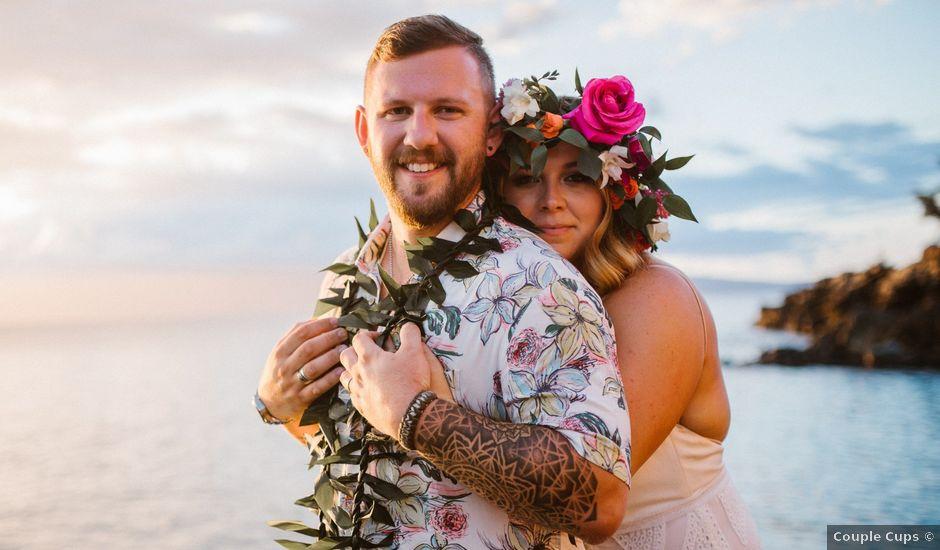 Jordan and Kathleen's Wedding in Lahaina, Hawaii