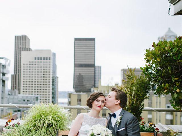 The wedding of Chris and Ursula