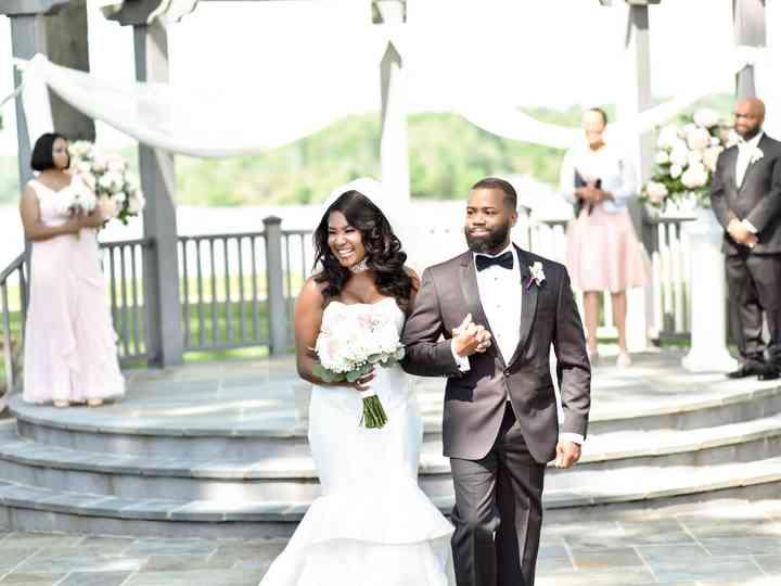 The wedding of Monica and Greg