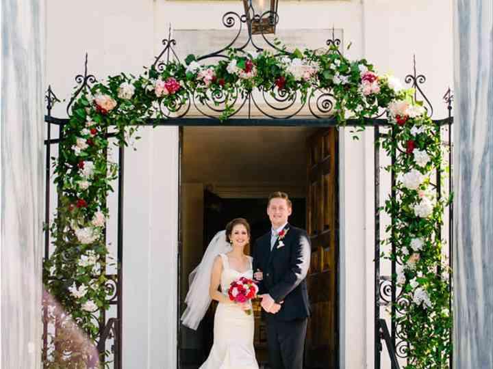 The wedding of Matt and Jackie