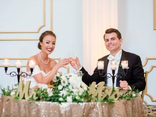 The wedding of Stefanie and Kevin