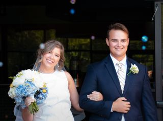The wedding of Mason and Landry