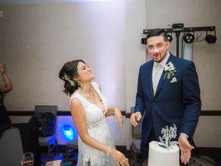 The wedding of Rachel and Jon 1