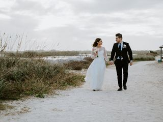 The wedding of Shaida and Reza