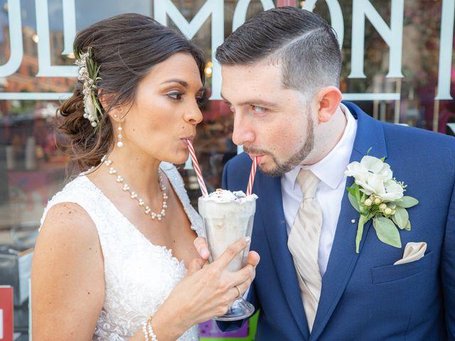 The wedding of Rachel and Jon