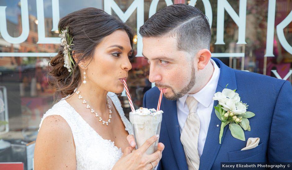 Jon and Rachel's Wedding in Jamestown, New York