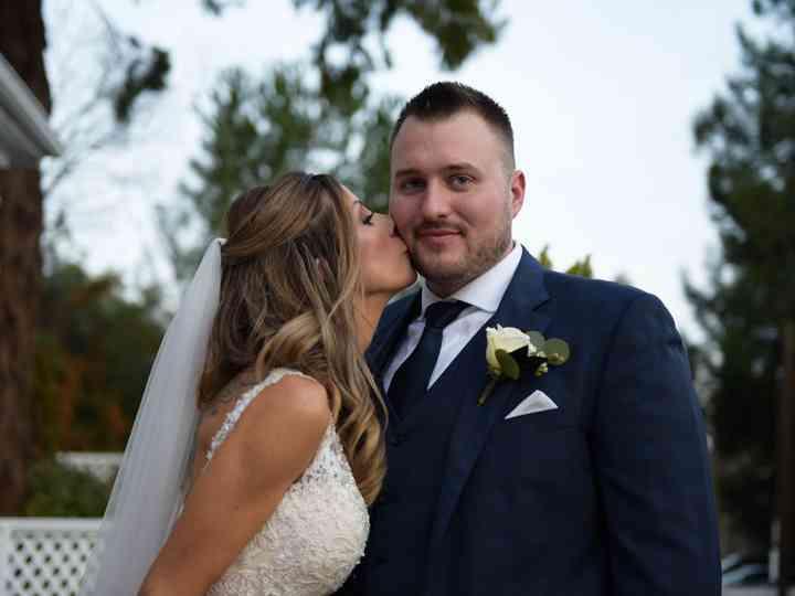 The wedding of Rachel and Matthew