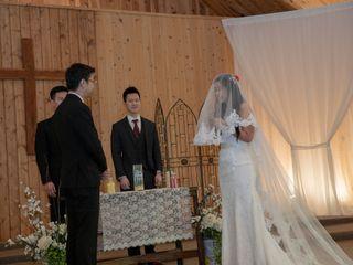 The wedding of Mellisa and Zip 3