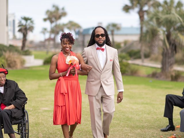 Lorenzo and Toniqua's Wedding in Myrtle Beach, South Carolina 42