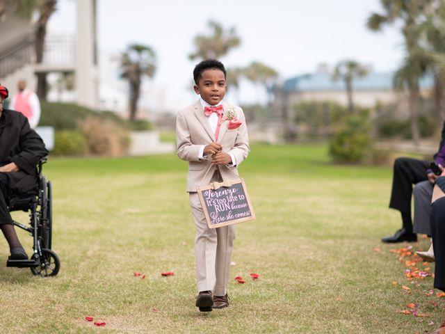 Lorenzo and Toniqua's Wedding in Myrtle Beach, South Carolina 43