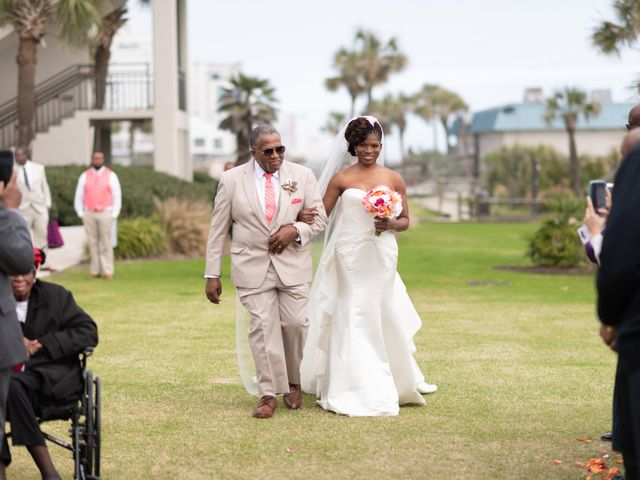 Lorenzo and Toniqua's Wedding in Myrtle Beach, South Carolina 45