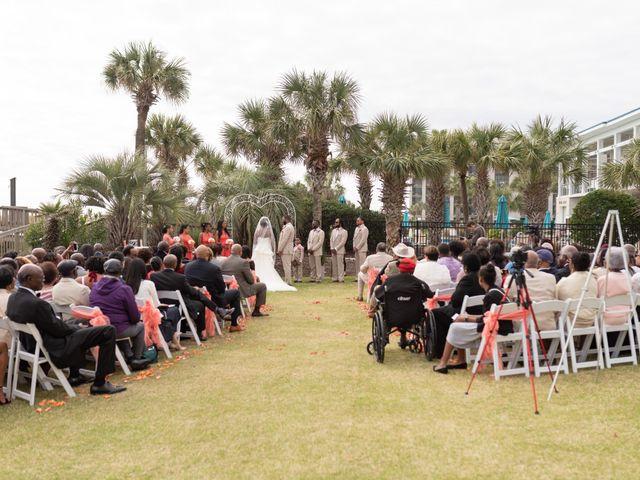 Lorenzo and Toniqua's Wedding in Myrtle Beach, South Carolina 49