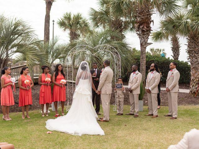 Lorenzo and Toniqua's Wedding in Myrtle Beach, South Carolina 50