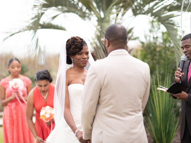 Lorenzo and Toniqua's Wedding in Myrtle Beach, South Carolina 51