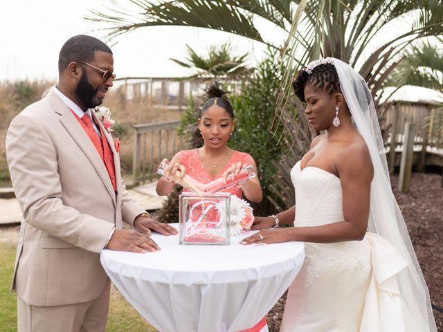 Lorenzo and Toniqua's Wedding in Myrtle Beach, South Carolina 54