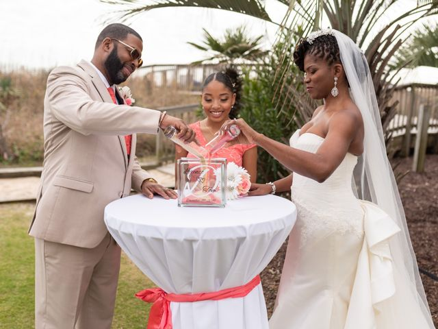 Lorenzo and Toniqua's Wedding in Myrtle Beach, South Carolina 55