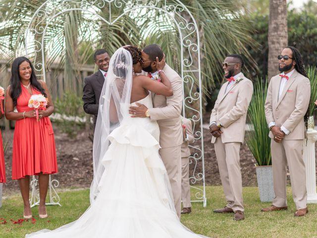 Lorenzo and Toniqua's Wedding in Myrtle Beach, South Carolina 56