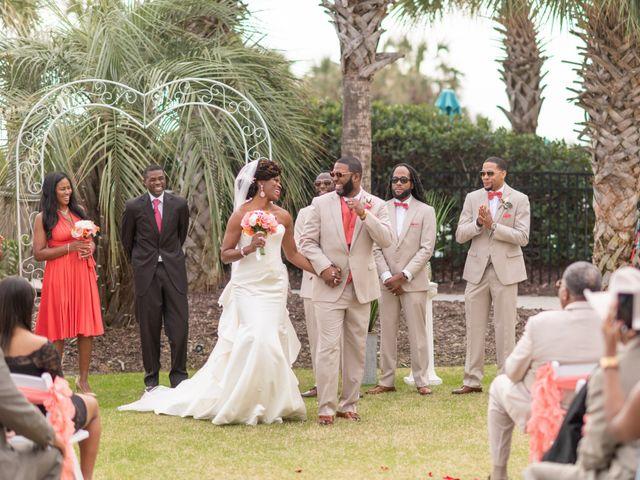 Lorenzo and Toniqua's Wedding in Myrtle Beach, South Carolina 57