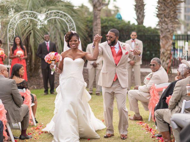 Lorenzo and Toniqua's Wedding in Myrtle Beach, South Carolina 58