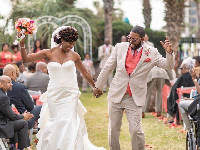 Lorenzo and Toniqua's Wedding in Myrtle Beach, South Carolina 59
