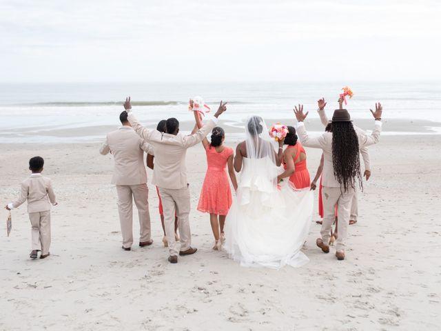 Lorenzo and Toniqua's Wedding in Myrtle Beach, South Carolina 64