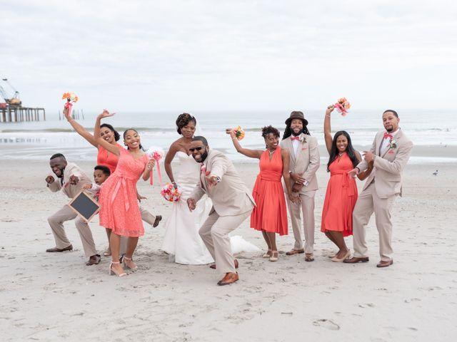 Lorenzo and Toniqua's Wedding in Myrtle Beach, South Carolina 66