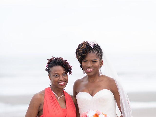 Lorenzo and Toniqua's Wedding in Myrtle Beach, South Carolina 70