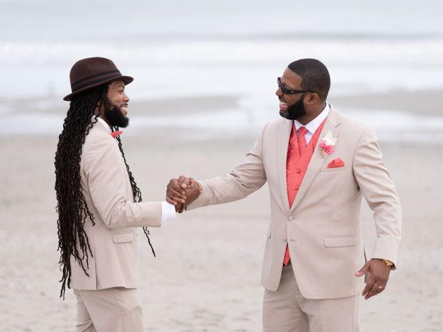 Lorenzo and Toniqua's Wedding in Myrtle Beach, South Carolina 71