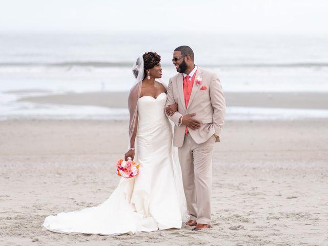 The wedding of Toniqua and Lorenzo