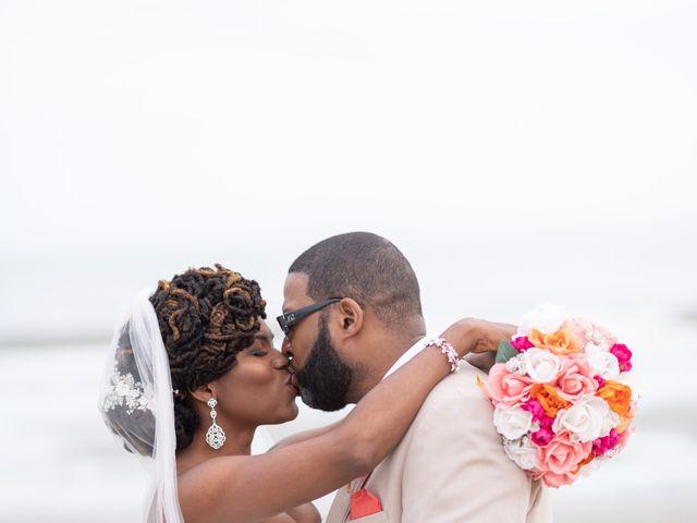 Lorenzo and Toniqua's Wedding in Myrtle Beach, South Carolina 1