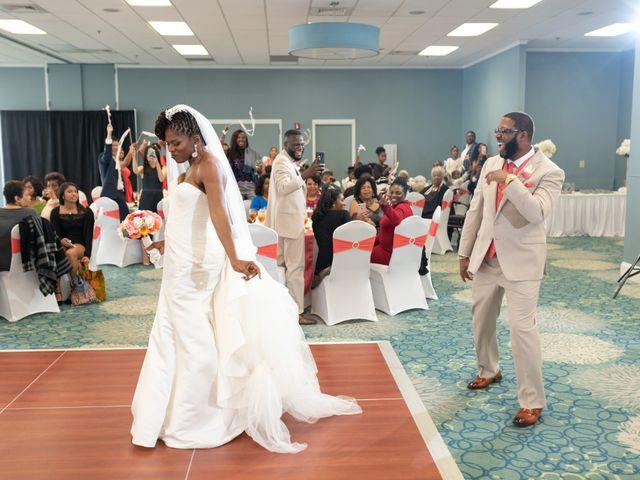 Lorenzo and Toniqua's Wedding in Myrtle Beach, South Carolina 75