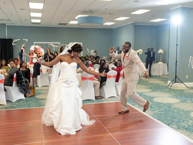 Lorenzo and Toniqua's Wedding in Myrtle Beach, South Carolina 76