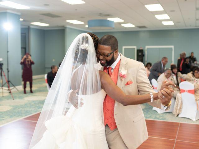 Lorenzo and Toniqua's Wedding in Myrtle Beach, South Carolina 77