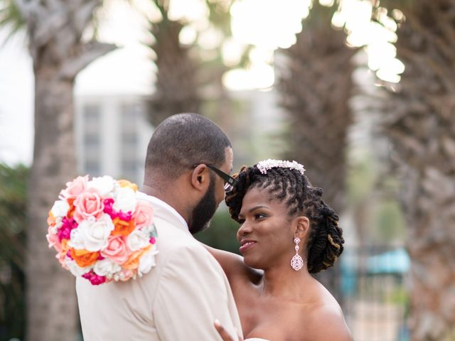 Lorenzo and Toniqua's Wedding in Myrtle Beach, South Carolina 89