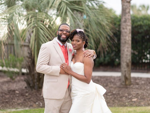 Lorenzo and Toniqua's Wedding in Myrtle Beach, South Carolina 91