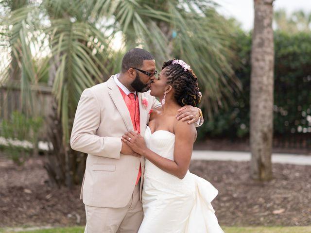 Lorenzo and Toniqua's Wedding in Myrtle Beach, South Carolina 92
