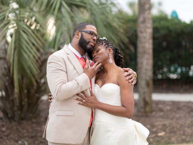 Lorenzo and Toniqua's Wedding in Myrtle Beach, South Carolina 93